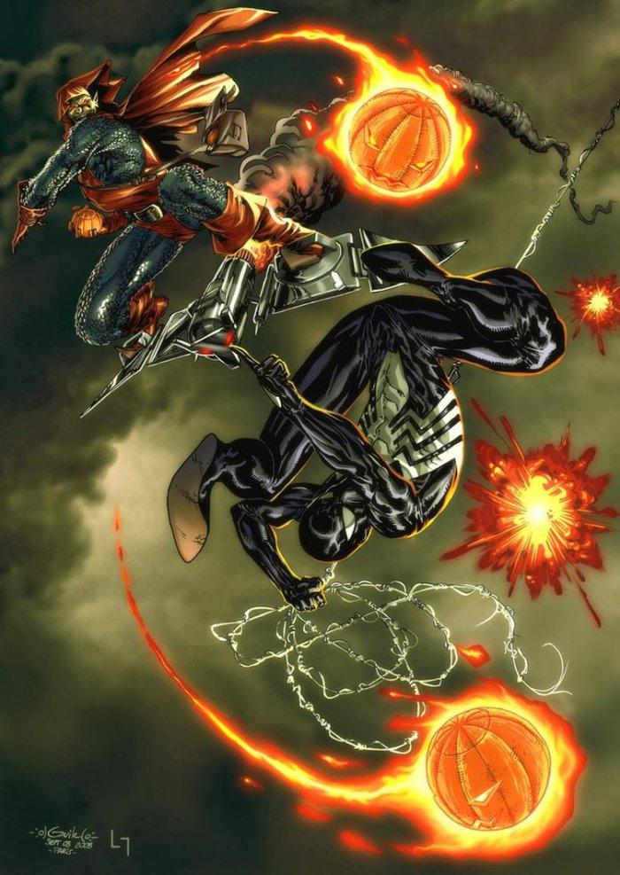 Spider-Man VS Hobgoblin (2)