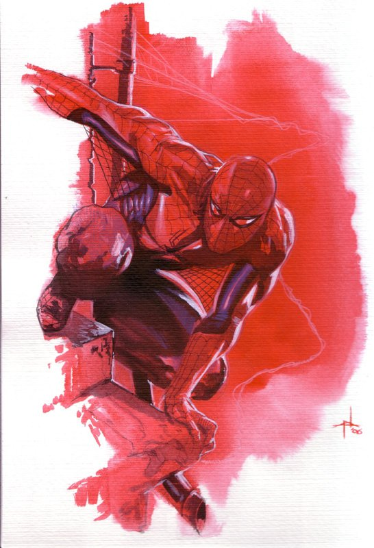 Spider-Man by Gabriele Dell'Otto (3)