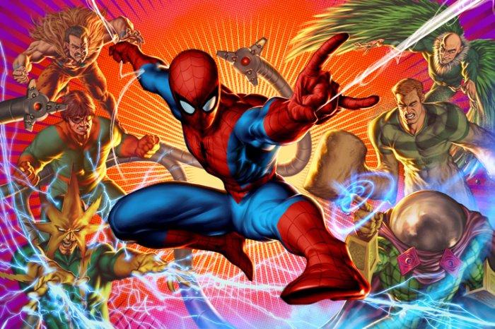 Spider-Man VS Sinister Six (2)