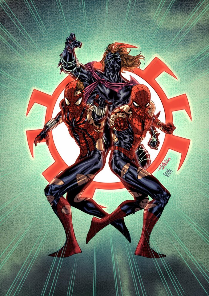 Trinity (Peter Parker, Ben Reilly, Kaine)