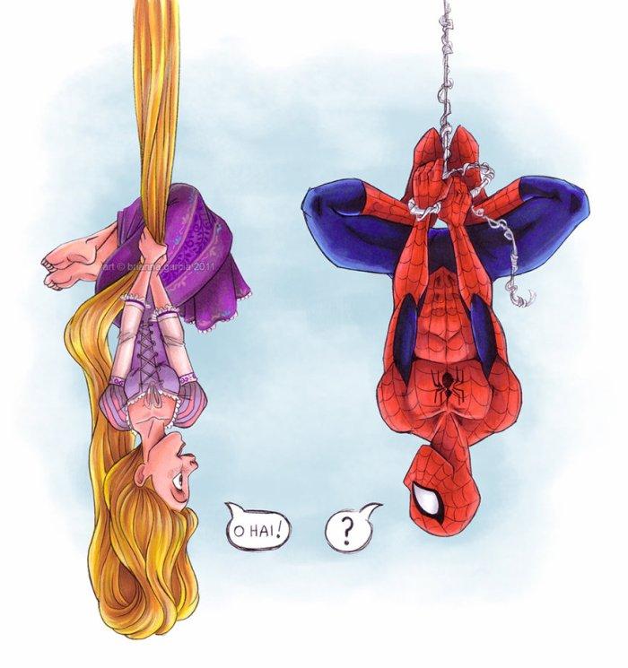 Spider-Man & Rapunzel