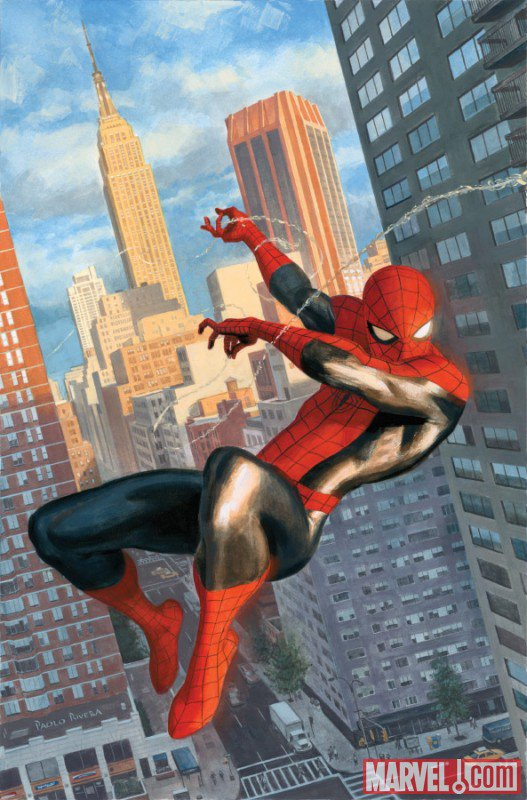 Spider-Man by Paolo Rivera (1)