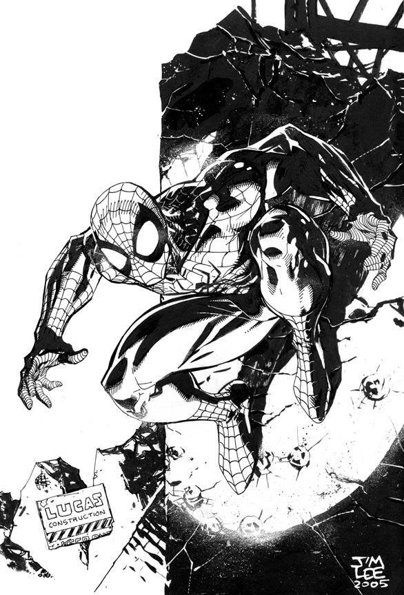 Spider-Man by Jim Lee