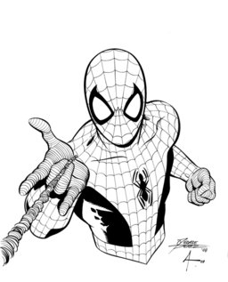 Spider-Man by George Pèrez
