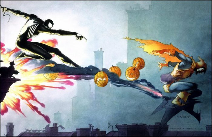 Spider-Man VS Hobgoblin (1)