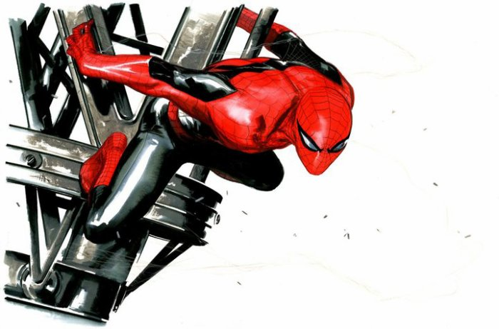 Spider-Man by Gabriele Dell'Otto (2)