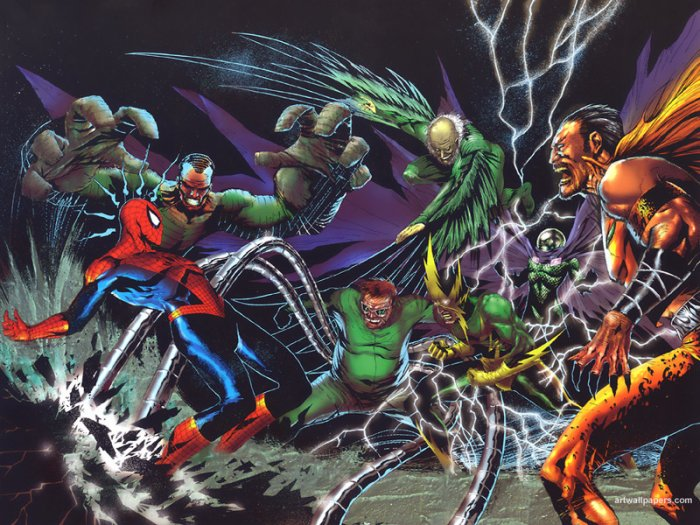 Spider-Man VS Sinister Six (1)