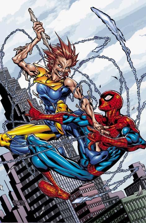 Spider-Man VS Marrow