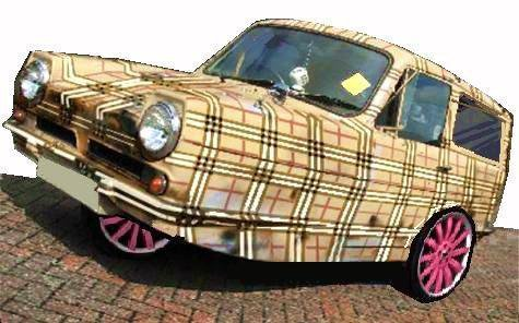 Jess's first car...Pfft