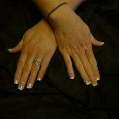 une de mes pose d'ongles en gel