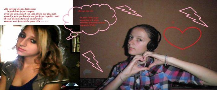 Céline & moi x3 entre couzine