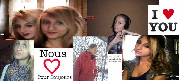 les couzine Céline & Estelle & moi x3