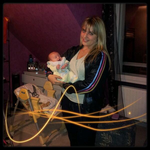 Noha ,, Un amour de bébé.♥