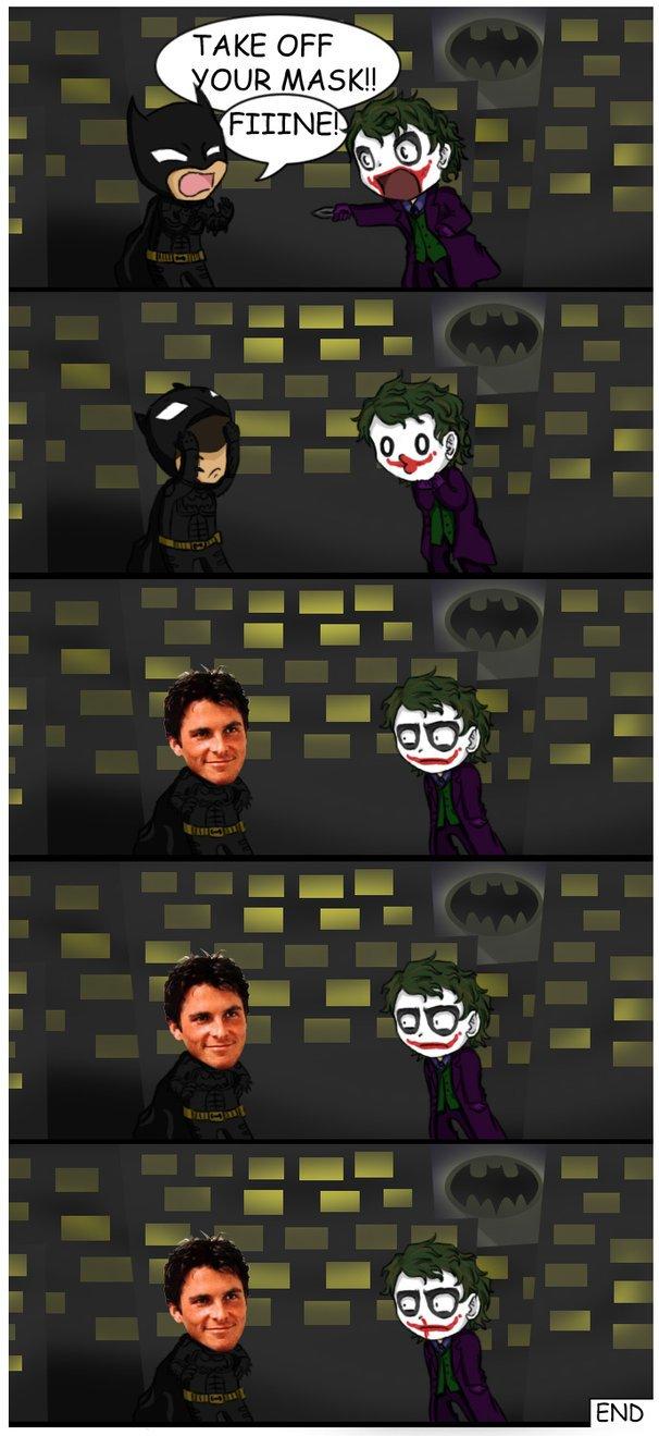 Batman montre son visage !
