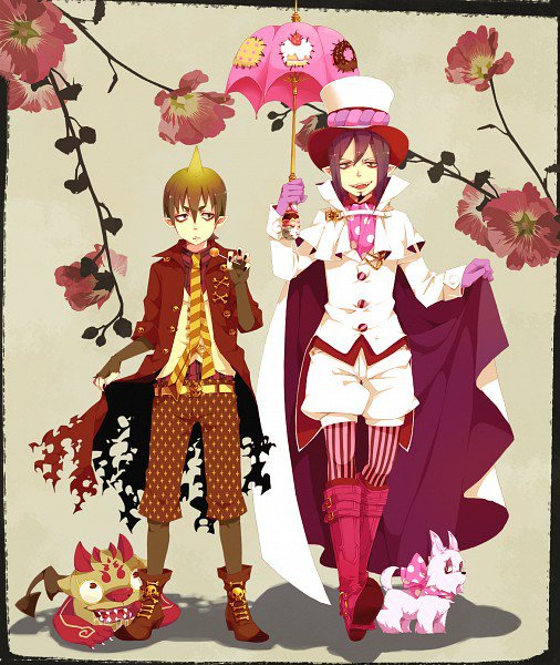 Amaimon et Mephisto
