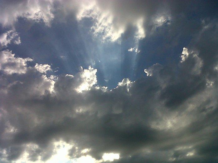 Le ciel et beau :)