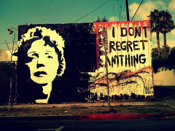 je ne regrette rien!