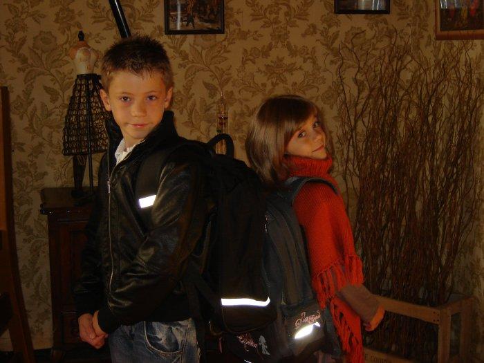 Kylian et madline, mes petits enfants