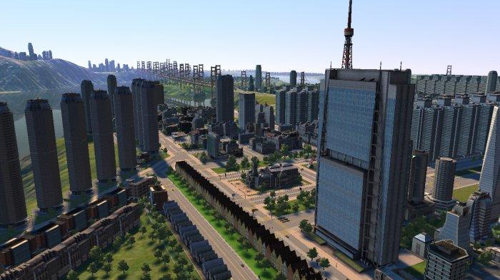 Un centre ville