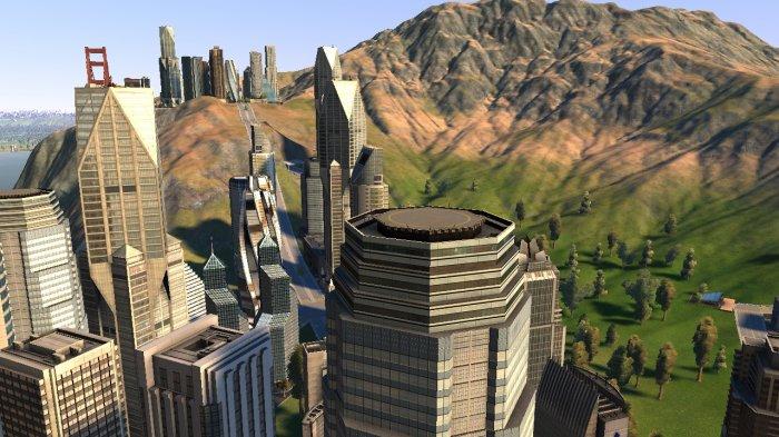 Du haut d'un gratte-ciel