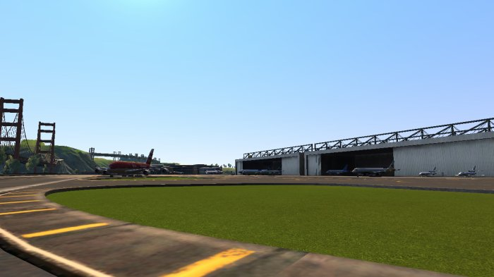 Les hangars