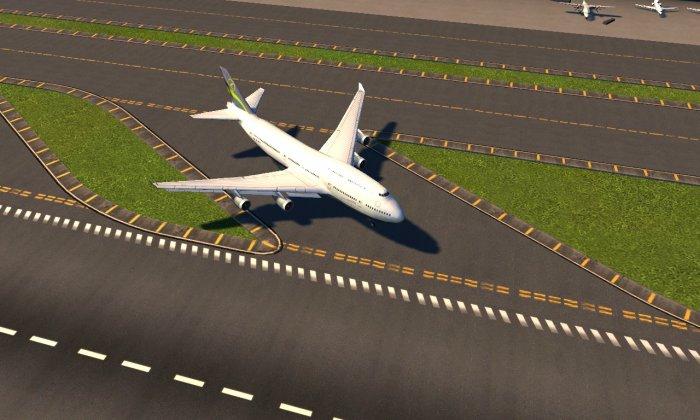 Un gros avion