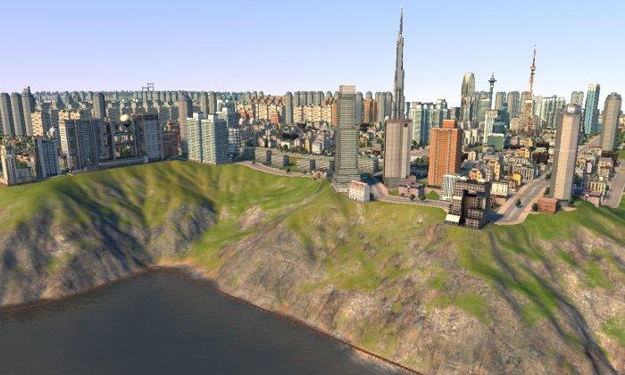vue d'ensemble de la ville