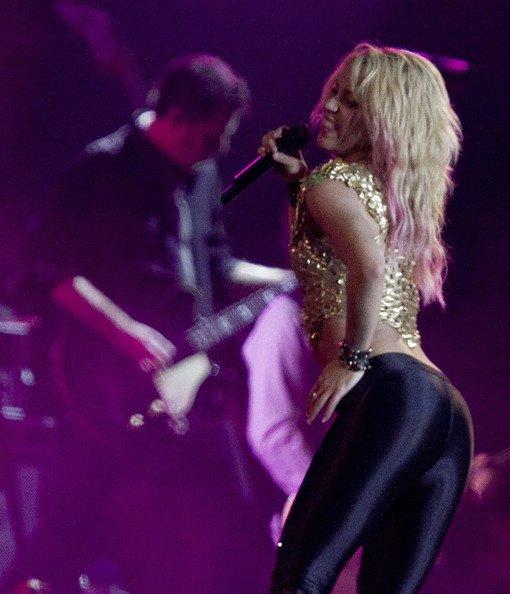 Shakira était à Rio de Janeiro dans le cadre du Rock in Rio,