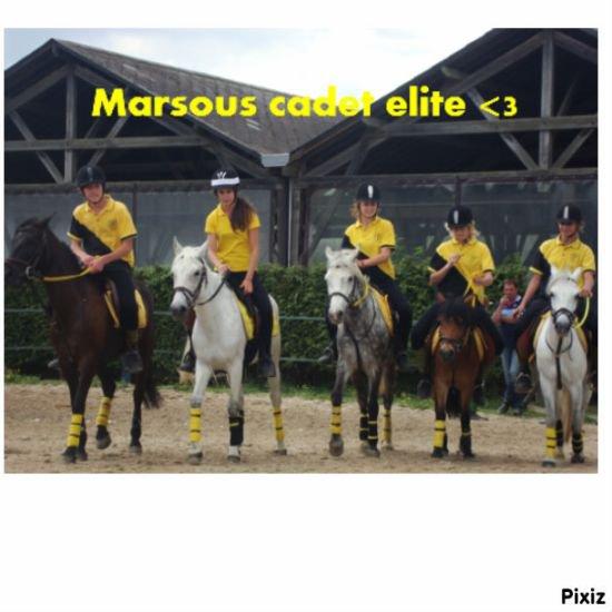Concours cadet élite, Marsous <3