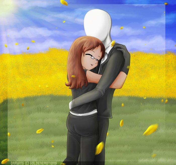 moi et mon Slendy-chan <3 http://fav.me/d5m3bcn