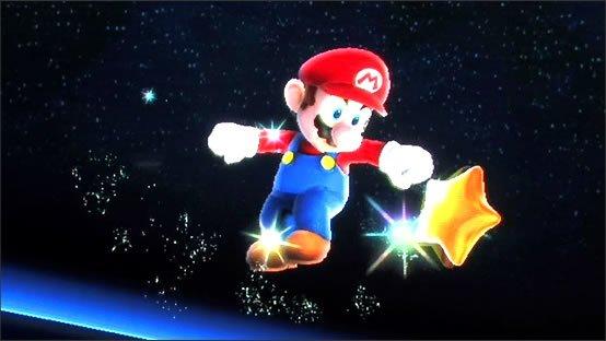 Mario a attrapé une super étoile :)
