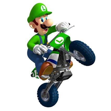 Mario Kart Luigi