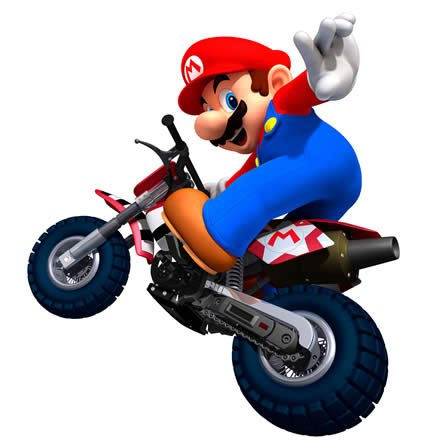 Mario Kart Mario