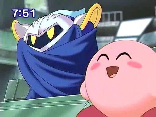 Kirby et Meta Knight