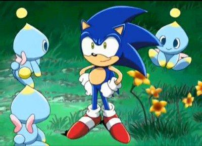Sonic et des chao