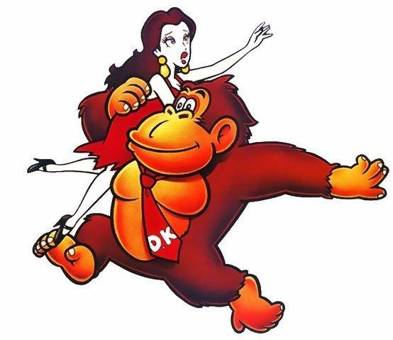Donkey Kong kidnappe Pauline