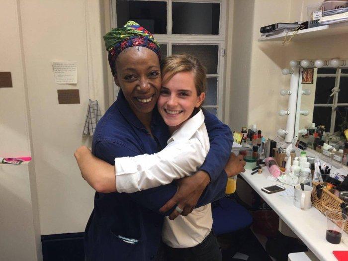 Noma Dumezweni & Emma Watson