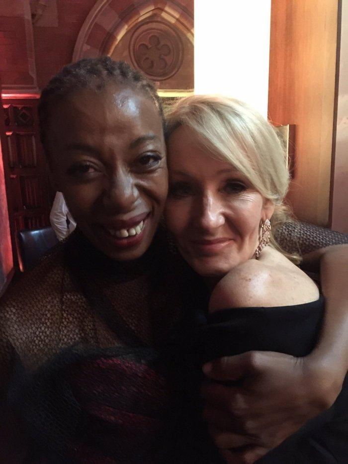 Noma Dumezweni et J.K. Rowling pour son anniversaire!