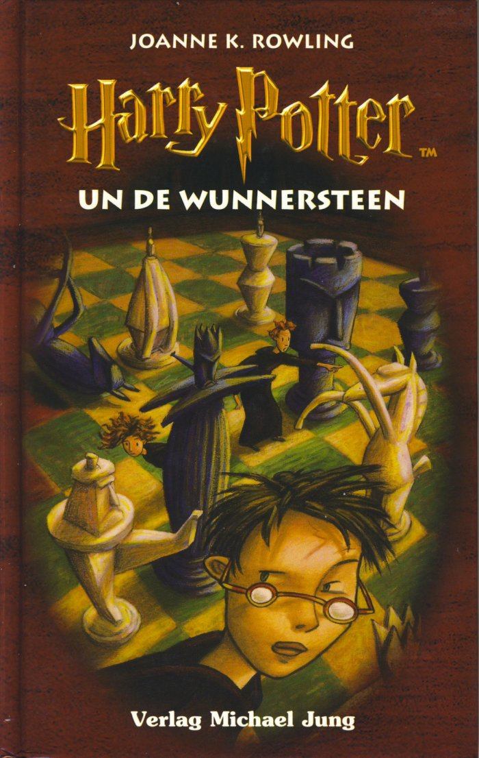 Harry Potter 1 en bas-allemand