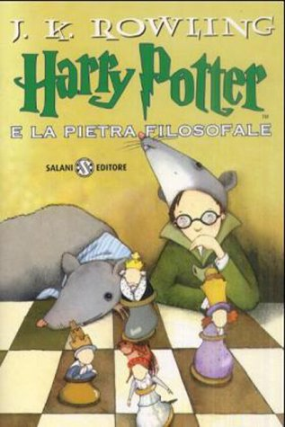 Harry Potter 1 en italien