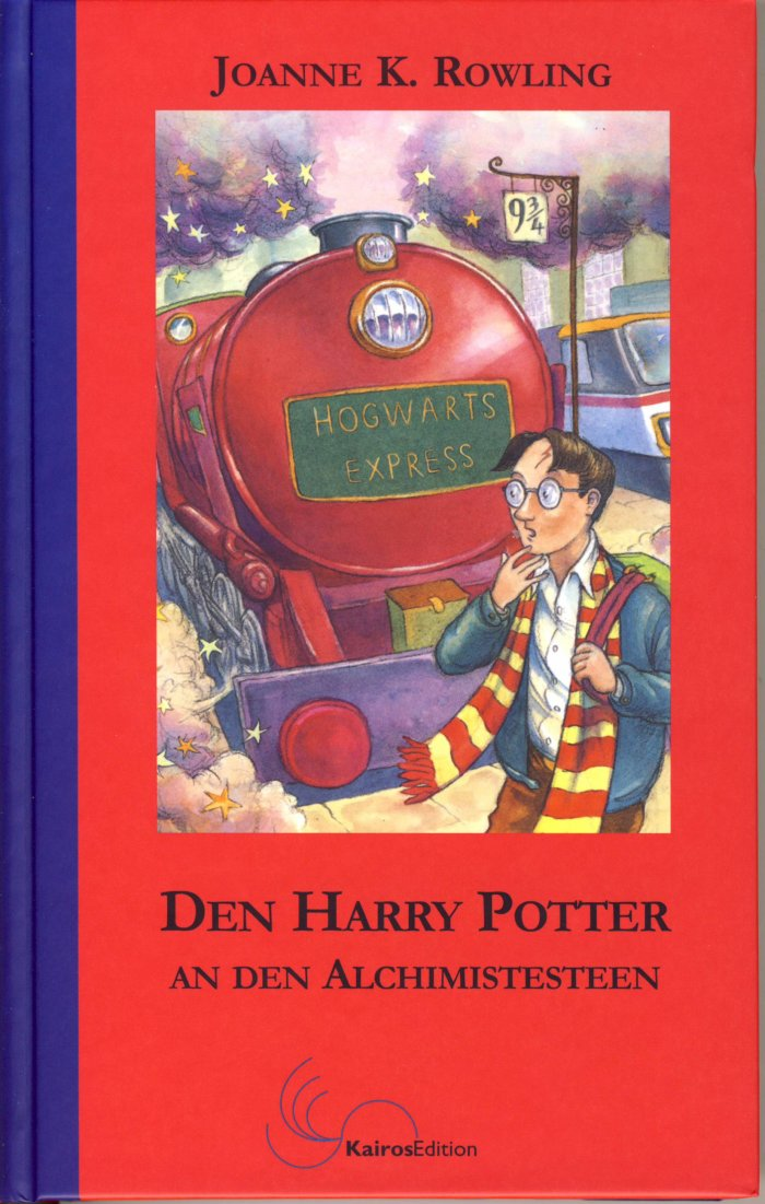 Harry Potter 1 en luxembourgeois
