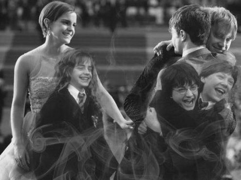 Daniel Radcliffe; Rupert Grint; Emma Watson