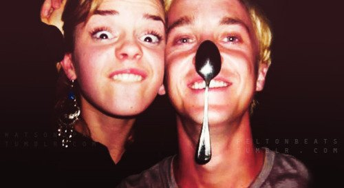 Emma Watson; Tom Felton