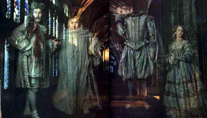 Les fantômes des quatre Maisons