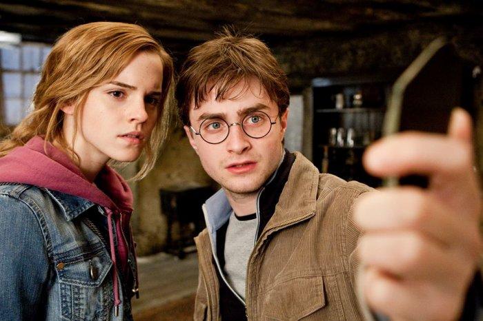 Un petit selfie Hermione?