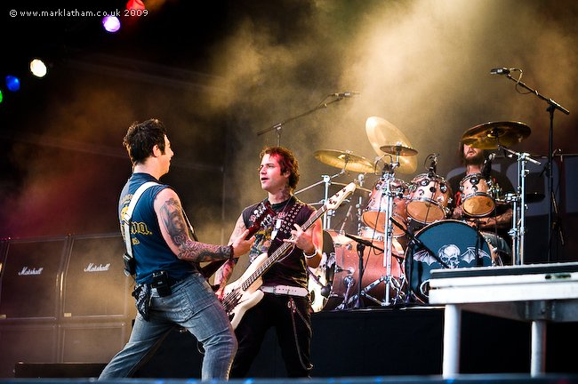 Sonisphere 2009,dernier show avec The Rev