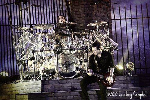Zacky et Mike Portnoy