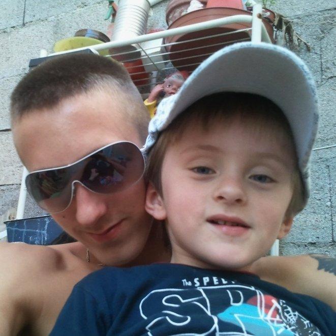 moi et le ptit cousin