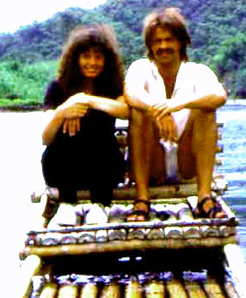 Jamaikanische Floß fahrt mit Freya