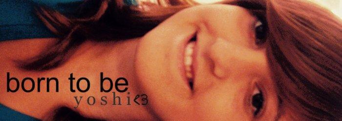 born to be yoshi<3